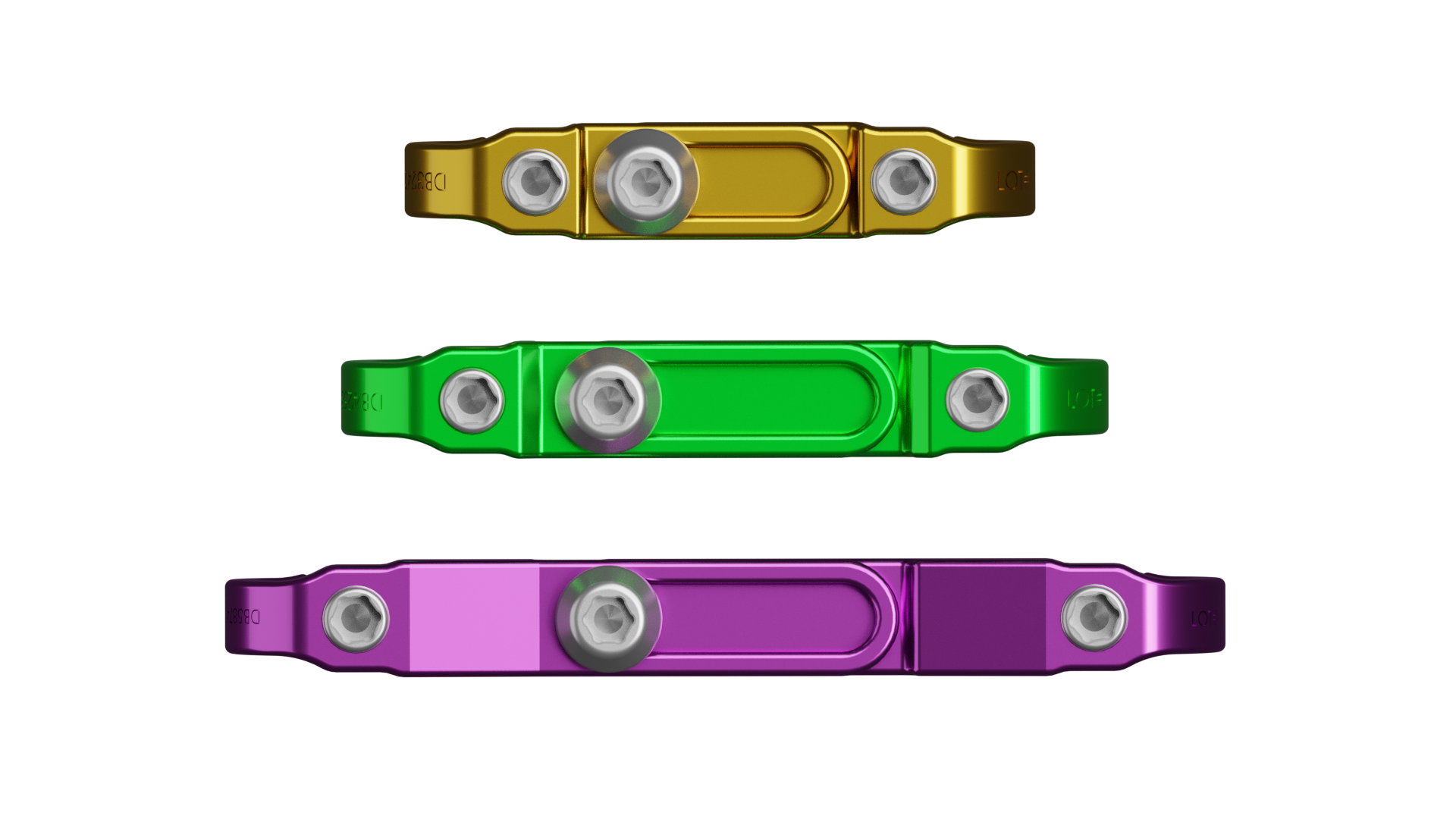 Small medium and large cross connectors