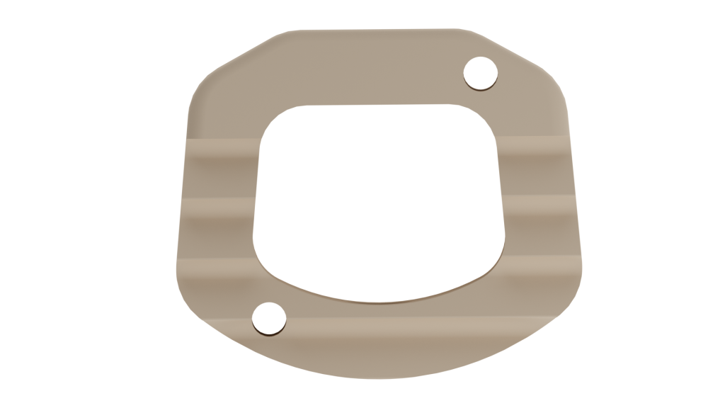 Top View of Cervical IBFD implant made of Peek Optima